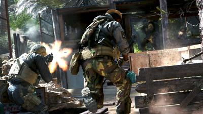Call of Duty Modern Warfare Video Game Wide Wallpaper 68499