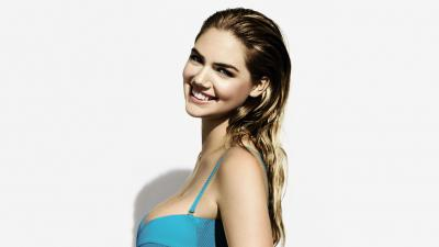 Kate Upton Smile Background Wallpaper 68426