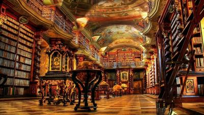 Library HD Wallpaper 67431