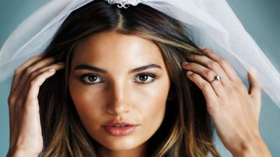 Lily Aldridge Face Model Wallpaper 66704