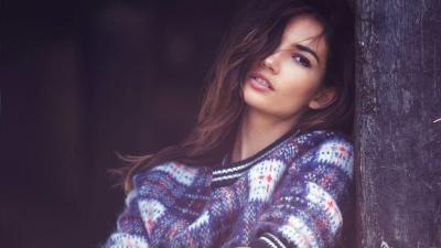 Lily Aldridge Sweater Wallpaper 66707