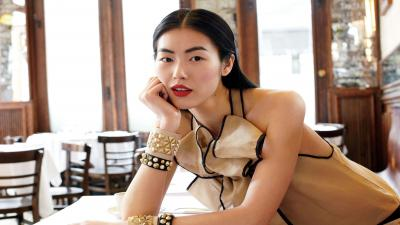 Liu Wen Makeup Background Wallpaper 66591