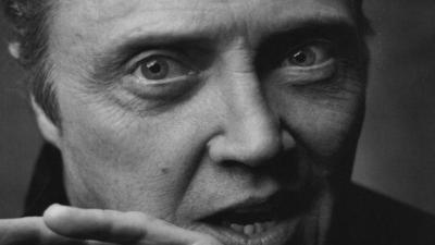 Monochrome Christopher Walken Face Wallpaper 66916