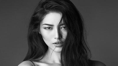 Monochrome Liu Wen Wallpaper 66586