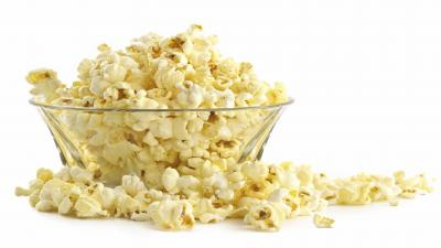 Popcorn Bowl Background Wallpaper 66877