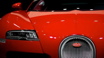 Red Bugatti Grill Wallpaper 67199