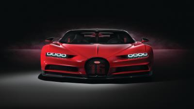 Red Bugatti Wallpaper 67204