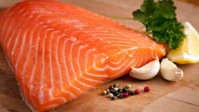 Salmon Computer Photos Wallpaper 66887
