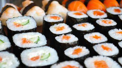 Sushi Up Close Wallpaper 66893