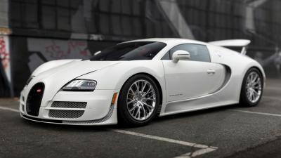 White Bugatti HD Wallpaper 67209
