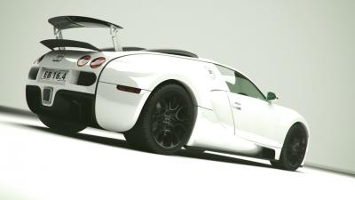 White Bugatti Wallpaper 67208