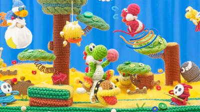 Yoshis Crafted World Background Wallpaper 67360