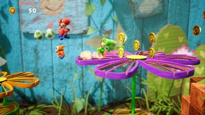 Yoshis Crafted World Game Wallpaper 67355