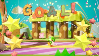 Yoshis Crafted World Goal Wallpaper 67349