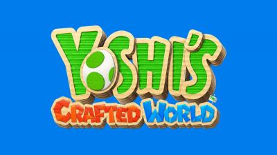 Yoshis Crafted World Logo Wallpaper 67352