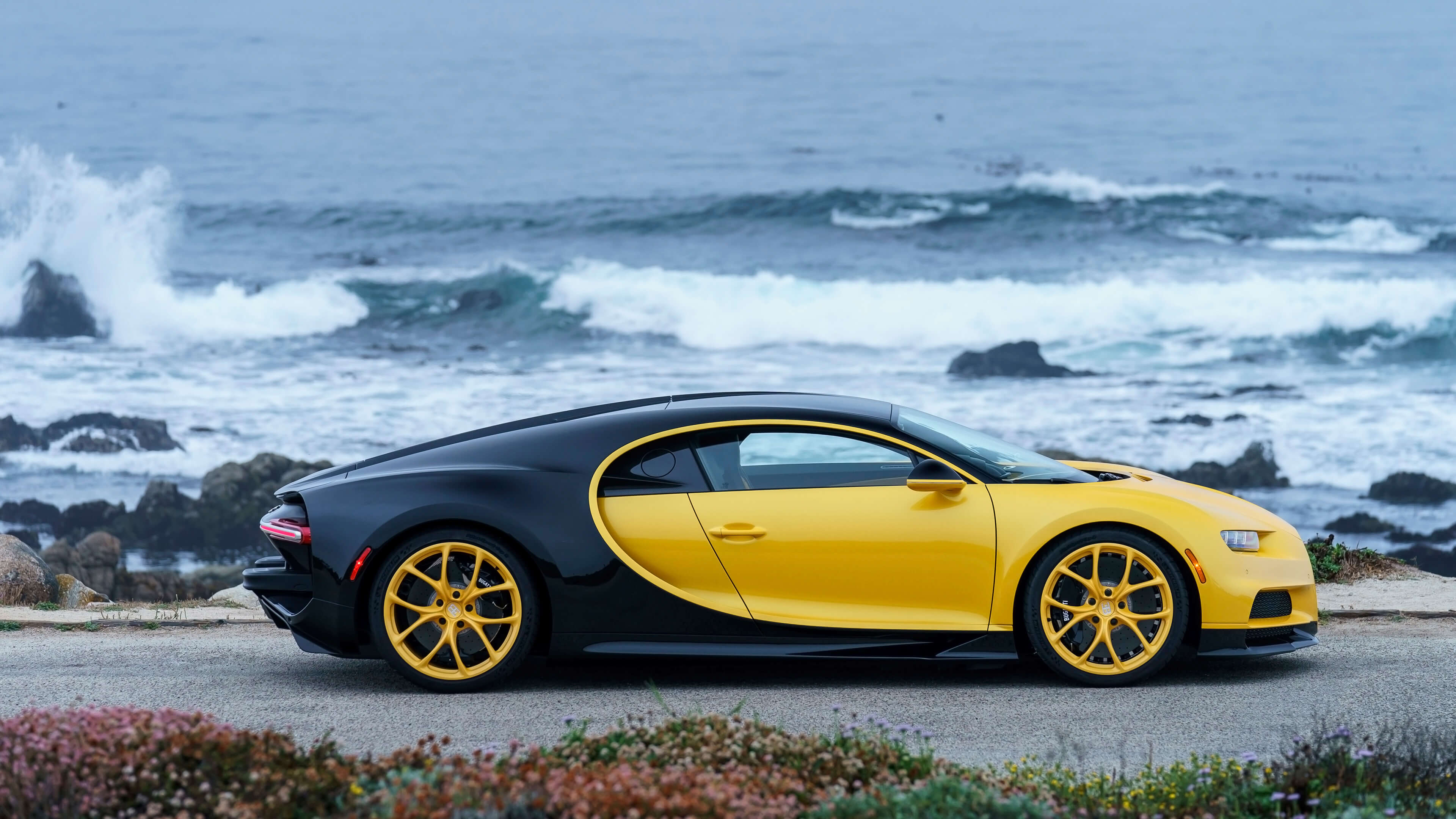 yellow and black bugatti wallpaper 67214