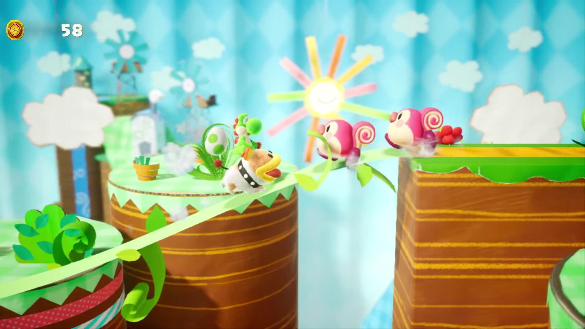 yoshis crafted world desktop wallpaper 67346