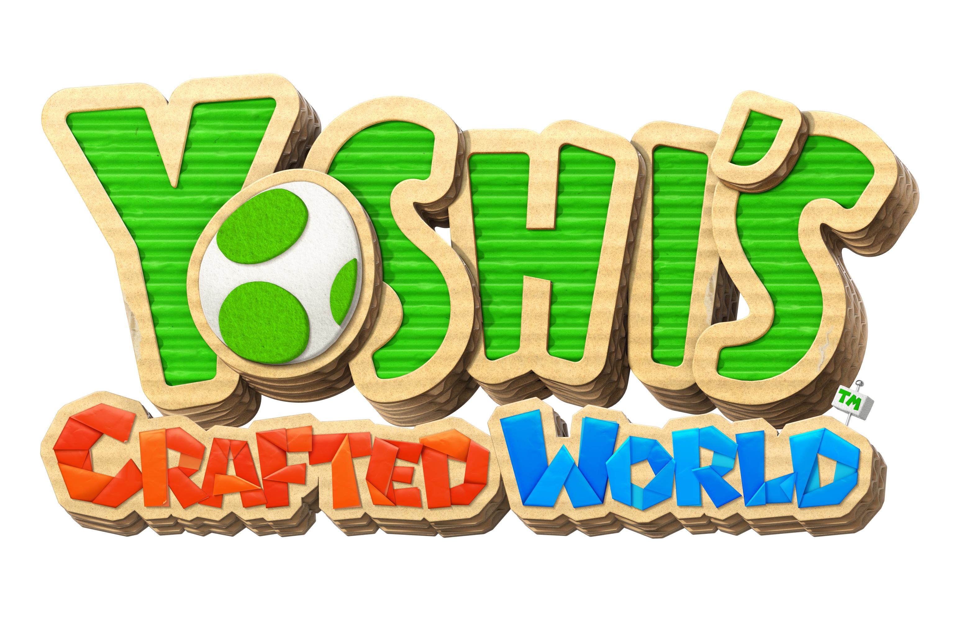 yoshis crafted world logo hd wallpaper 67348