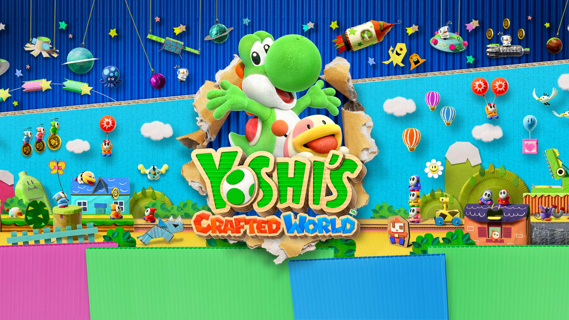 yoshis crafted world video game hd wallpaper 67347