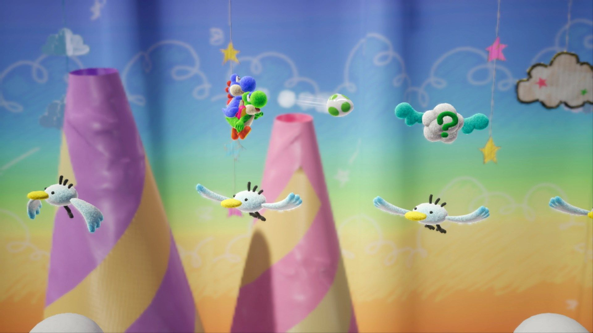 yoshis crafted world wallpaper 67354