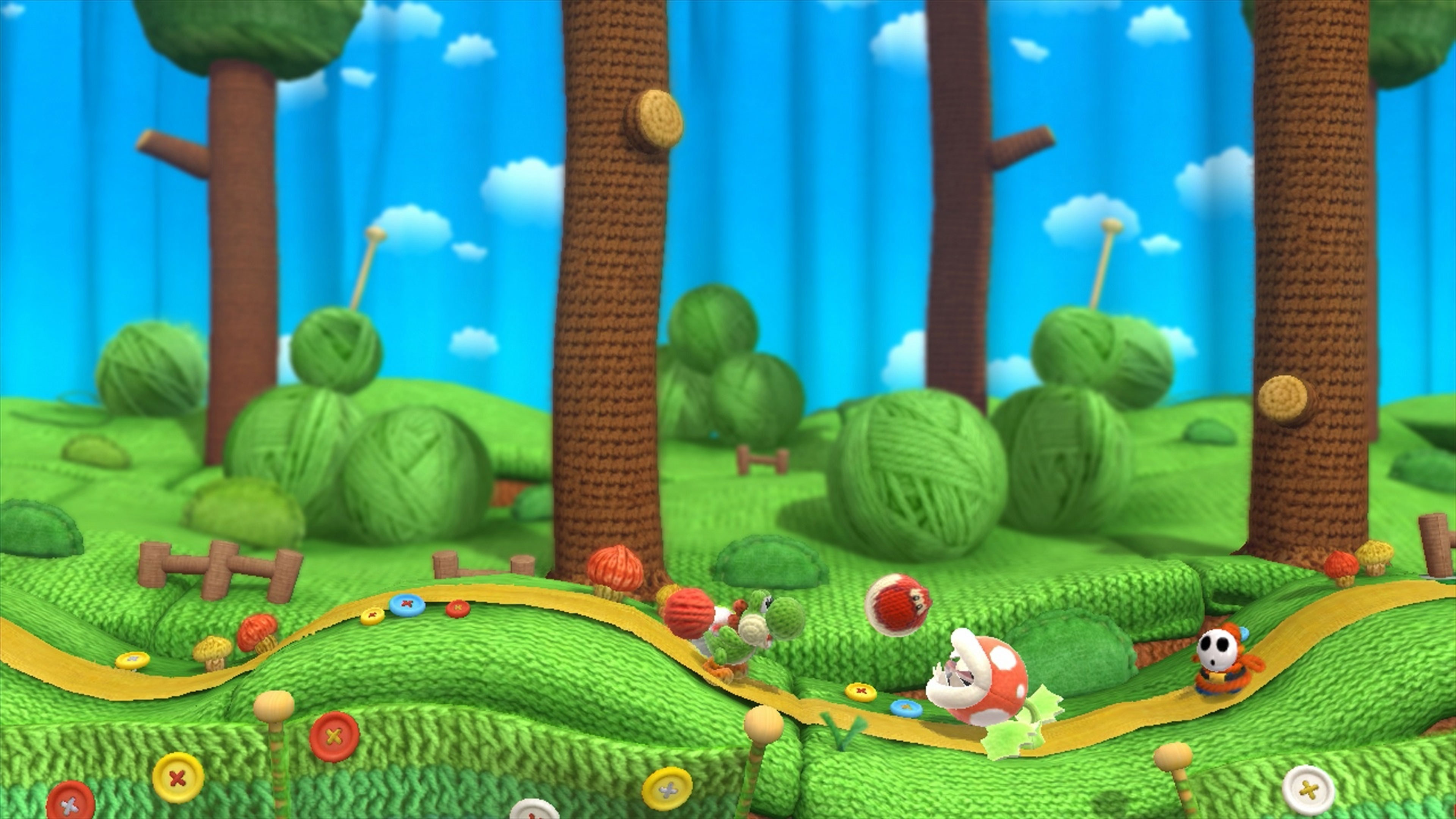 yoshis crafted world widescreen wallpaper 67361