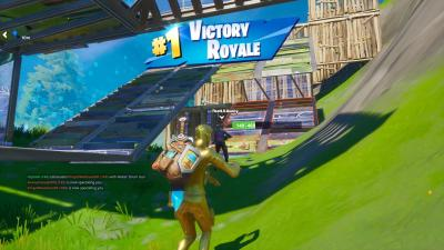 Fortnite Midas Victory Wallpaper 71304