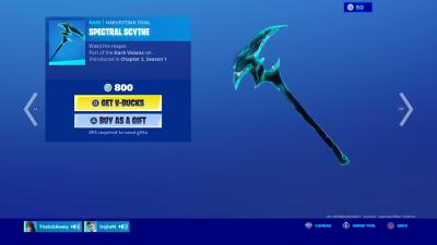 Fortnite Spectral Scythe Wallpaper 71305