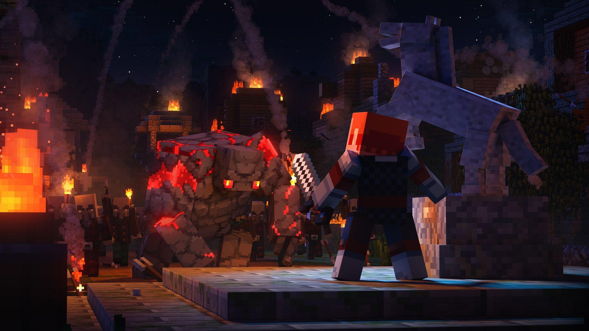 minecraft dungeons game wallpaper 71277