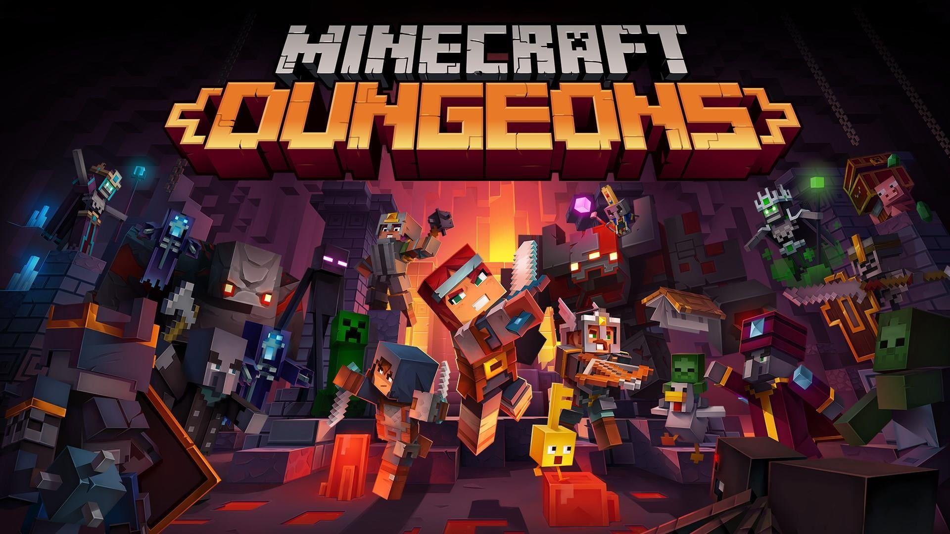 minecraft dungeons video game wallpaper 71279
