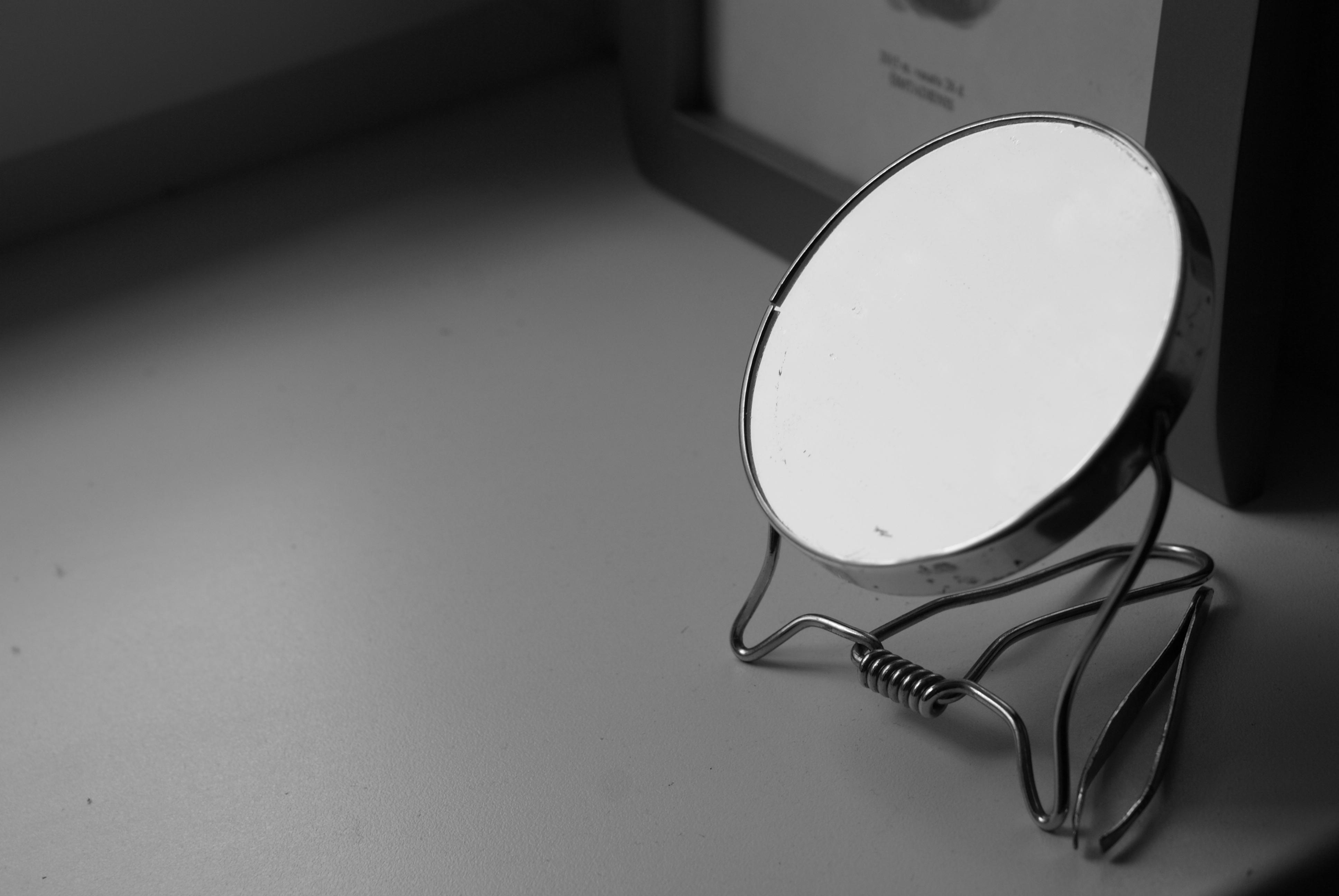 monochrome mirror wallpaper 70445