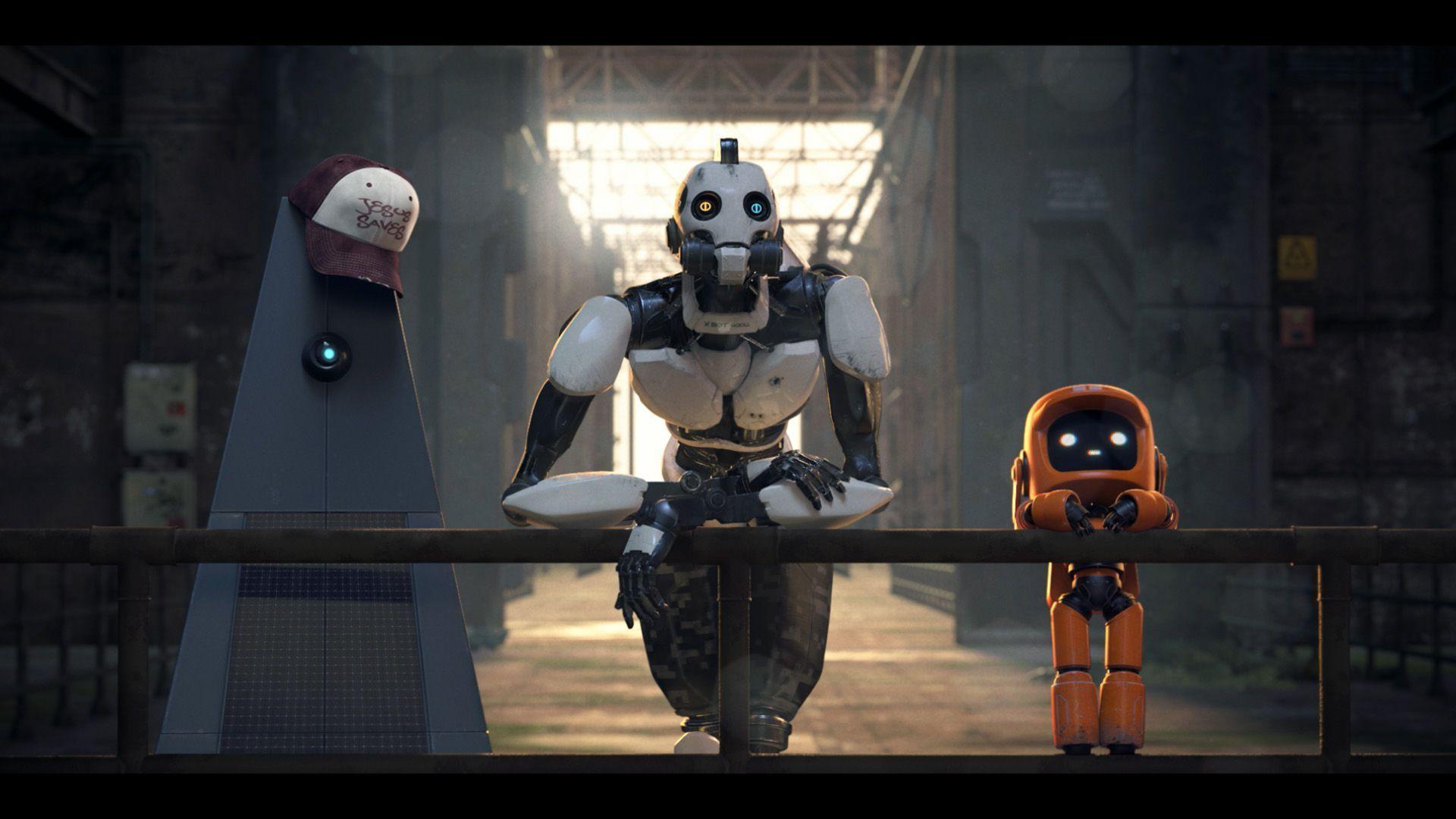 hd love death robots wallpaper 70379