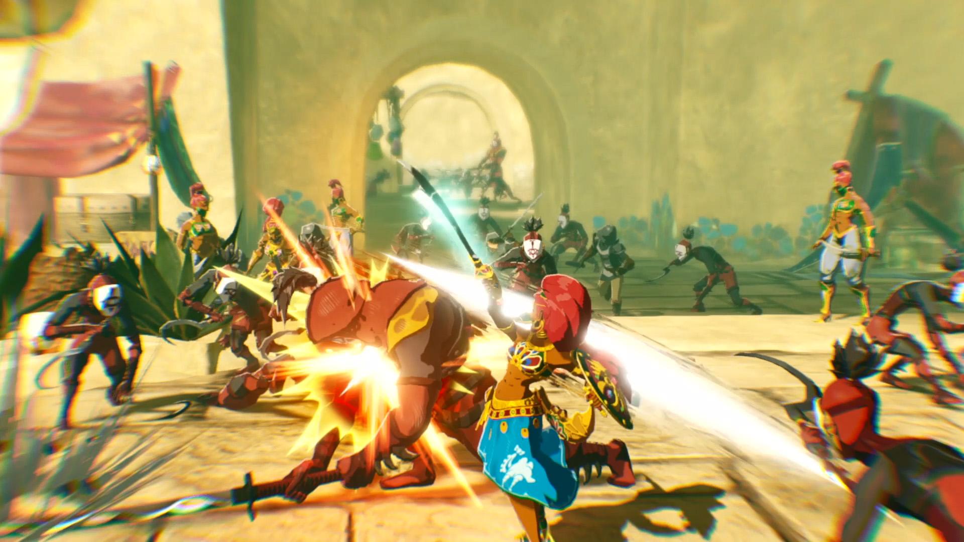 hyrule warriors age of calamity screenshot wallpaper 72512