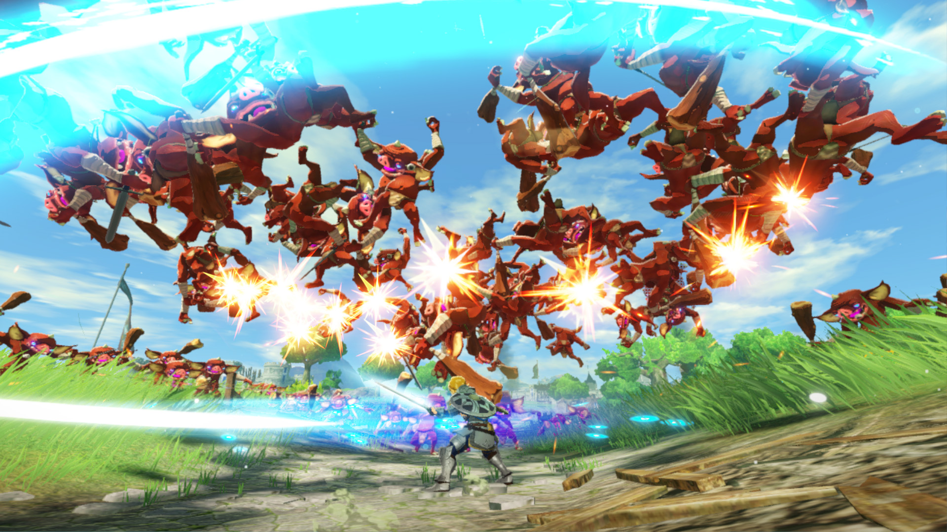 hyrule warriors age of calamity wallpaper 72510