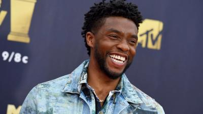 Chadwick Boseman Smile Wallpaper 71628