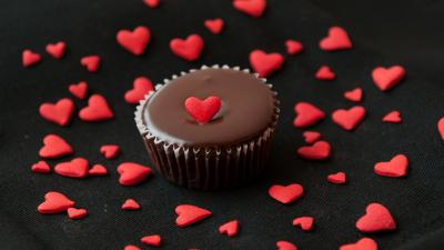 Chocolate Cupcake Background Wallpaper 70876