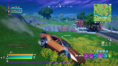 Fortnite Sports Car Wallpaper 71513