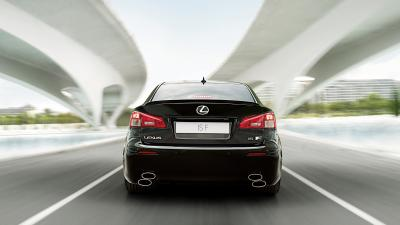 Lexus ISF Rear View Wallpaper 70514