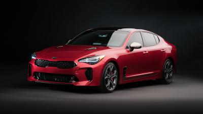 Red Kia Stinger Wallpaper 70356