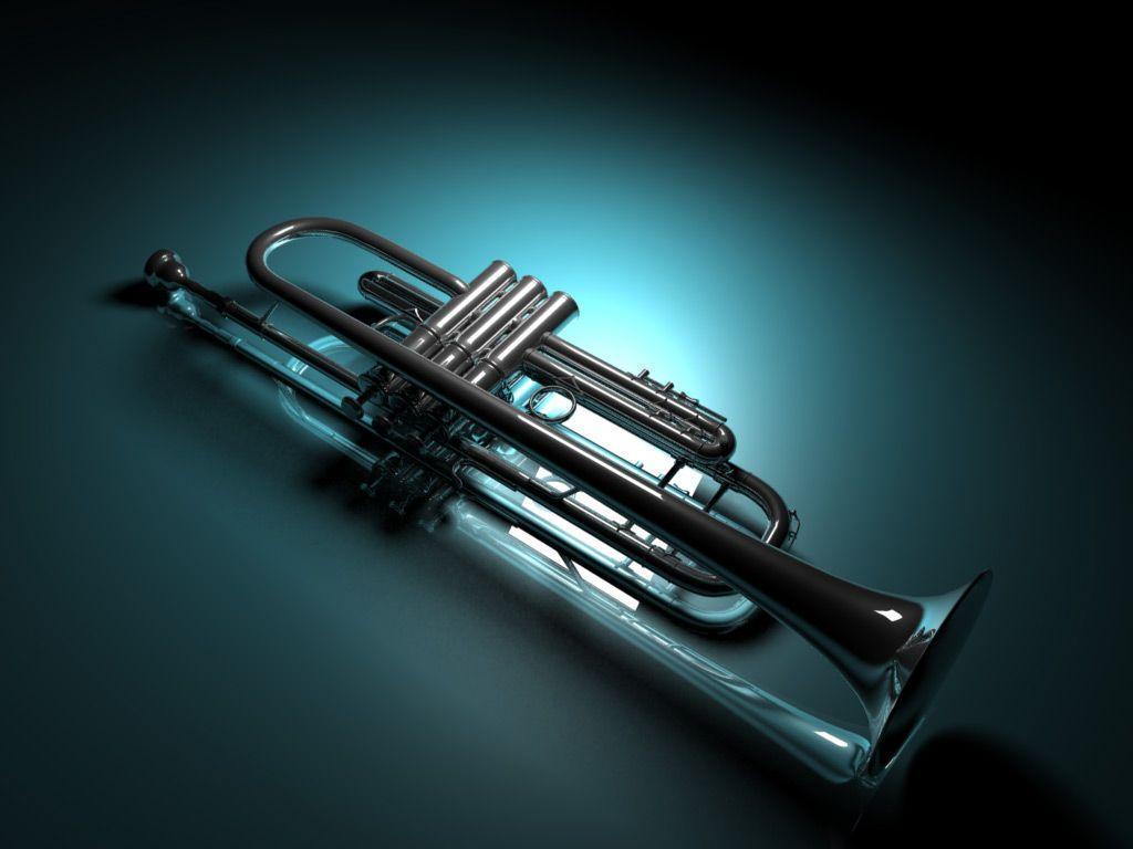 3d trumpet wallpaper 72339