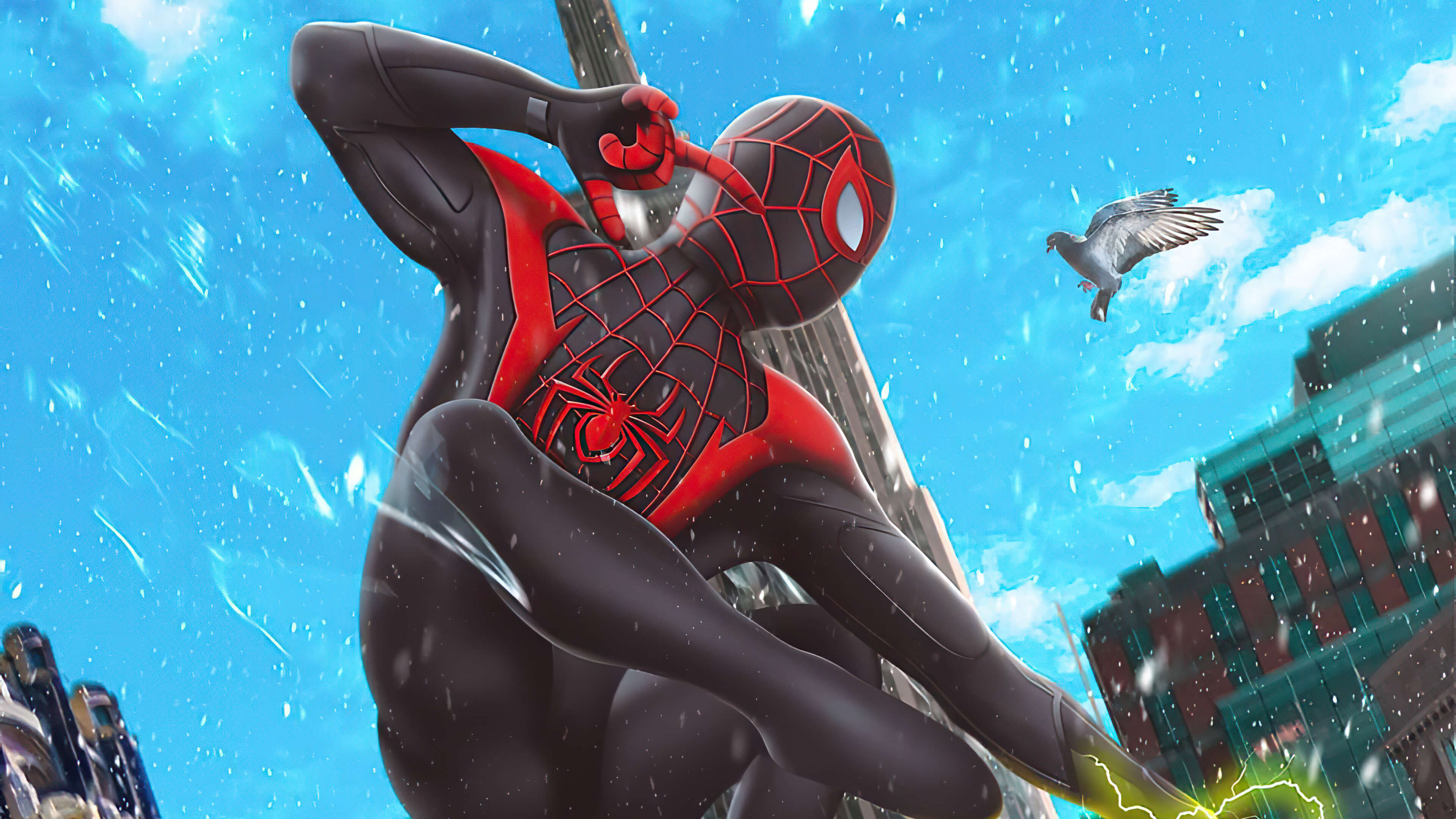 4k marvels spider man miles morales wallpaper 72400