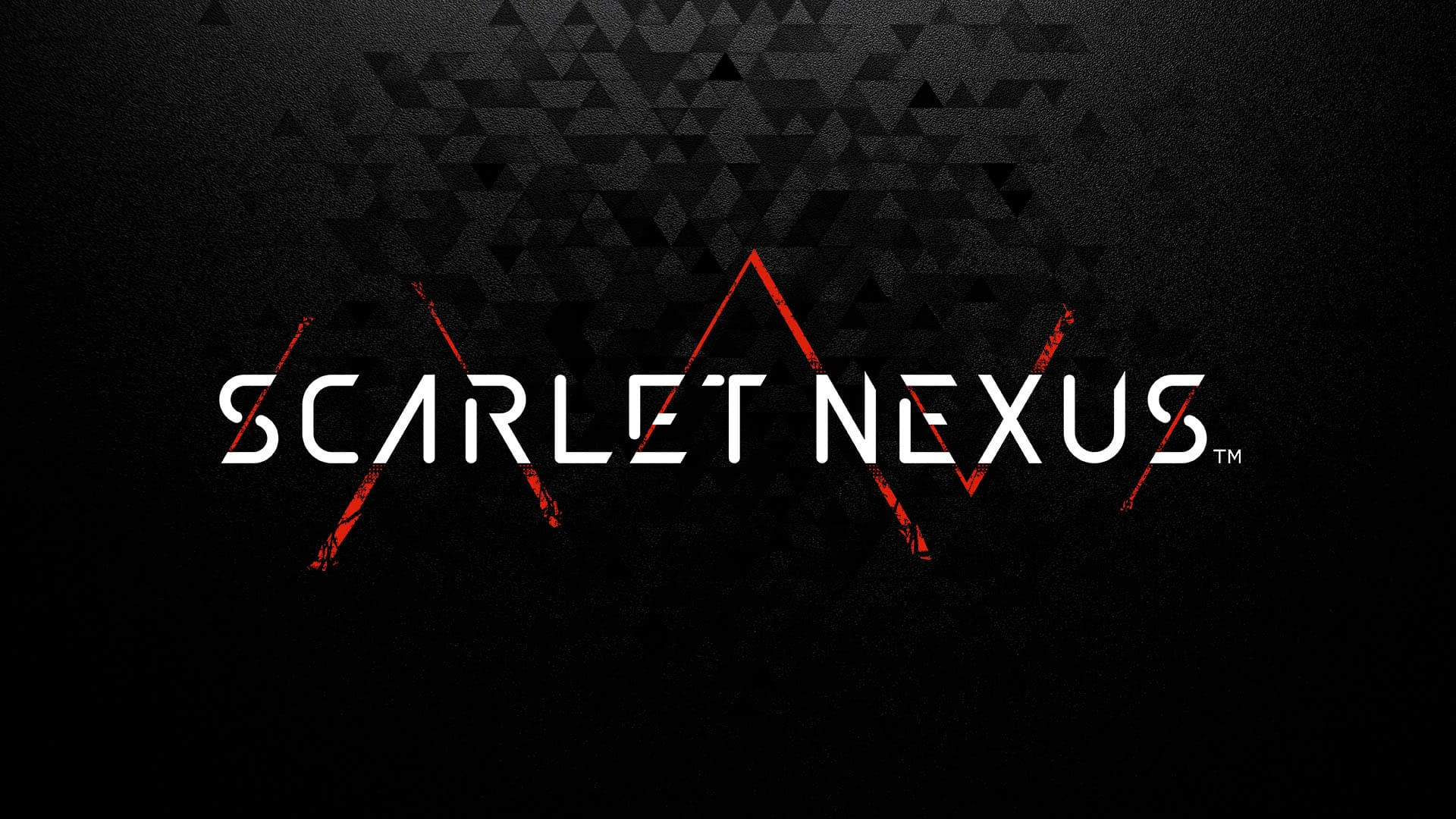 dark scarlet nexus logo wallpaper 72388