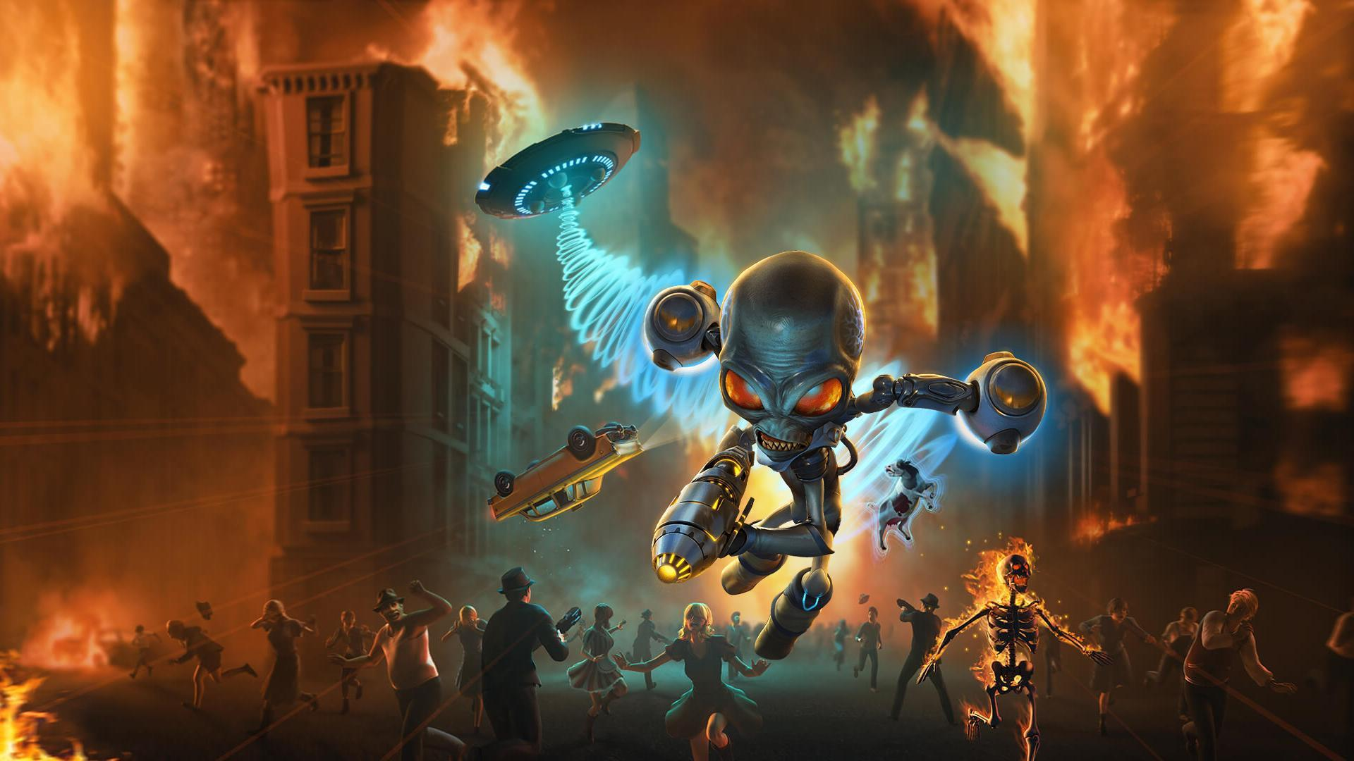 destroy all humans video game wallpaper 71428