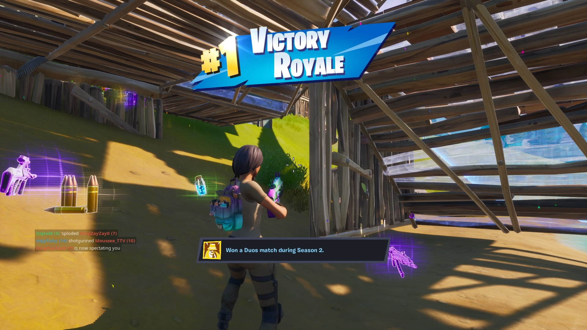 fortnite chapter 2 victory wallpaper 70703