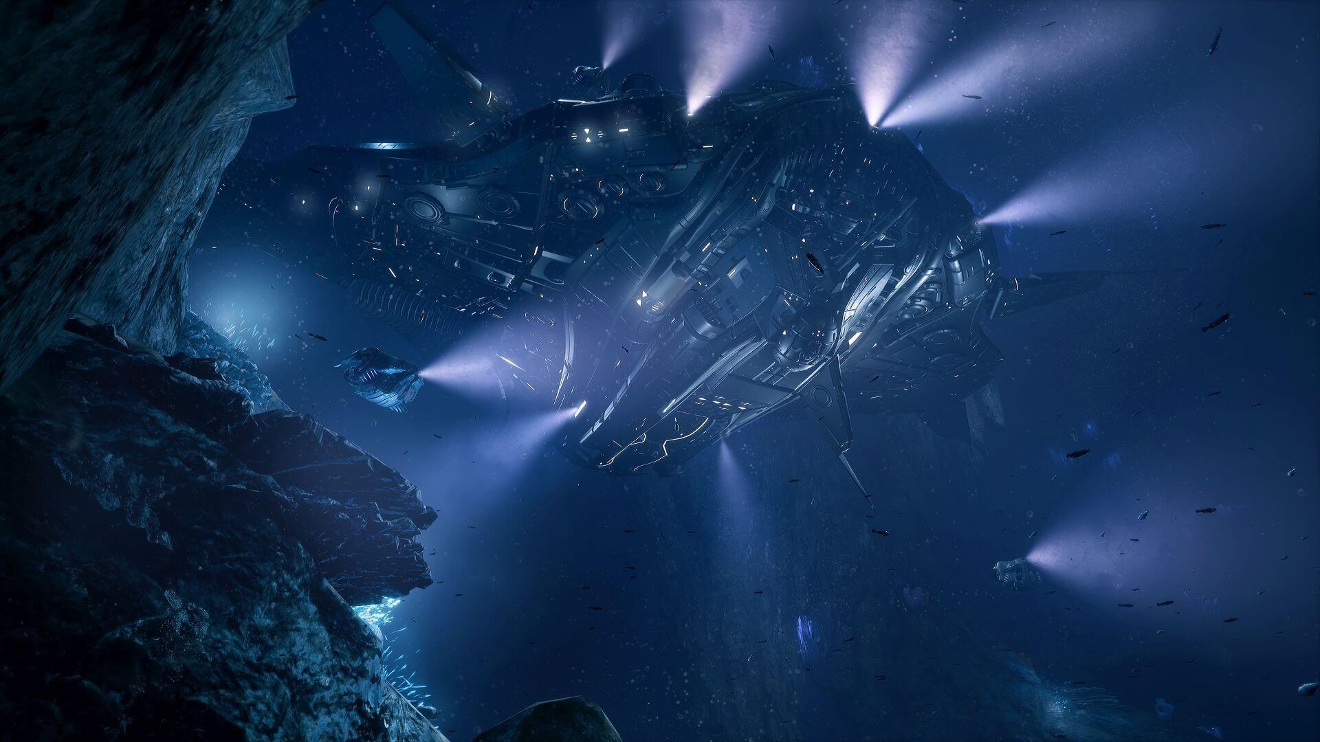 game aquanox deep descent wallpaper 72539