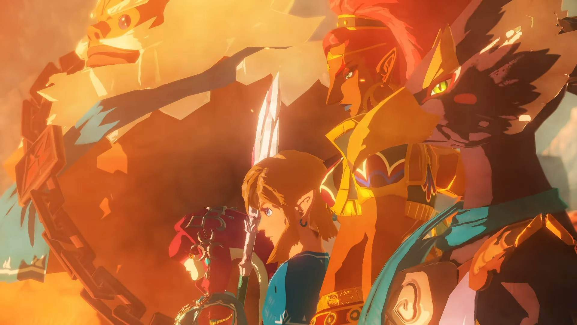 hyrule warriors age of calamity wallpaper 72514