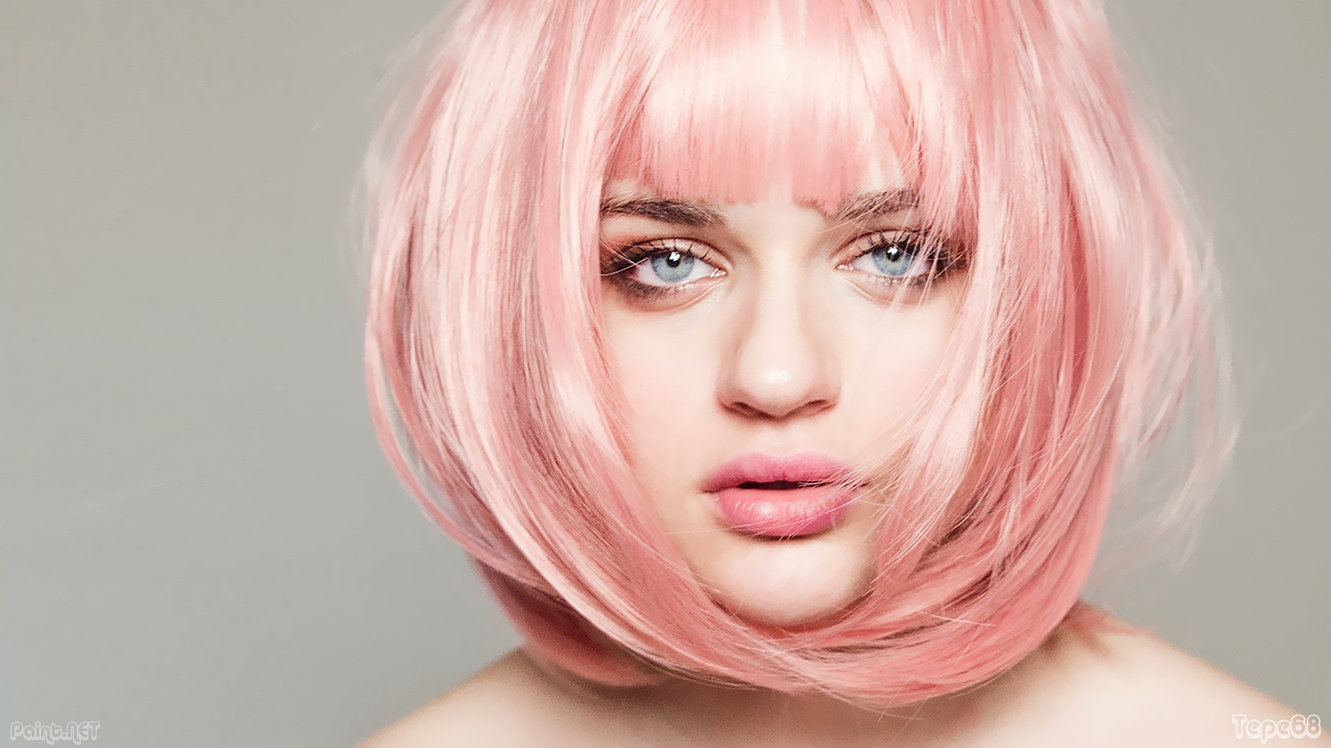 joey king pink hair wallpaper 71661