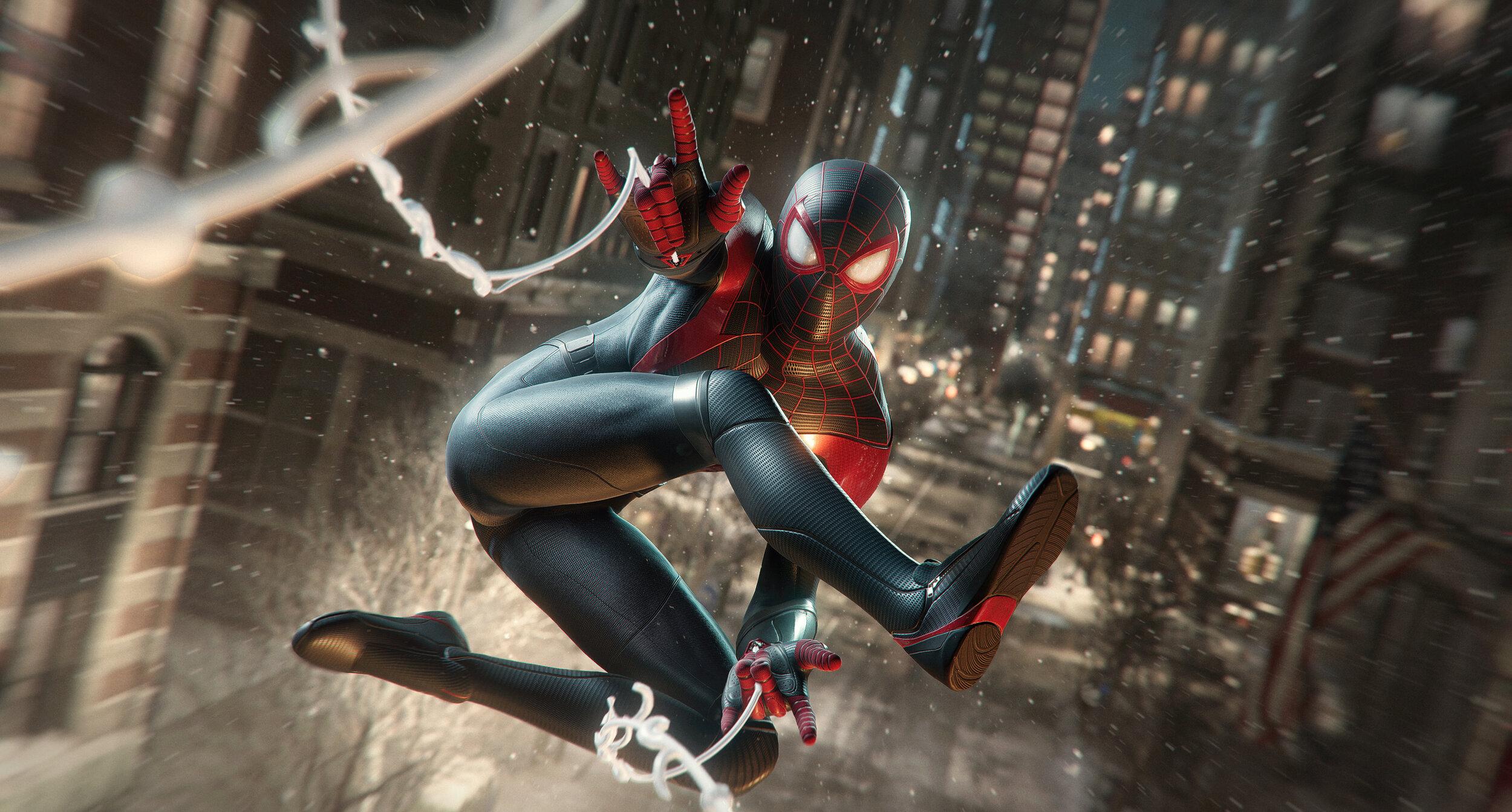 marvels spider man miles morales hd wallpaper 72406
