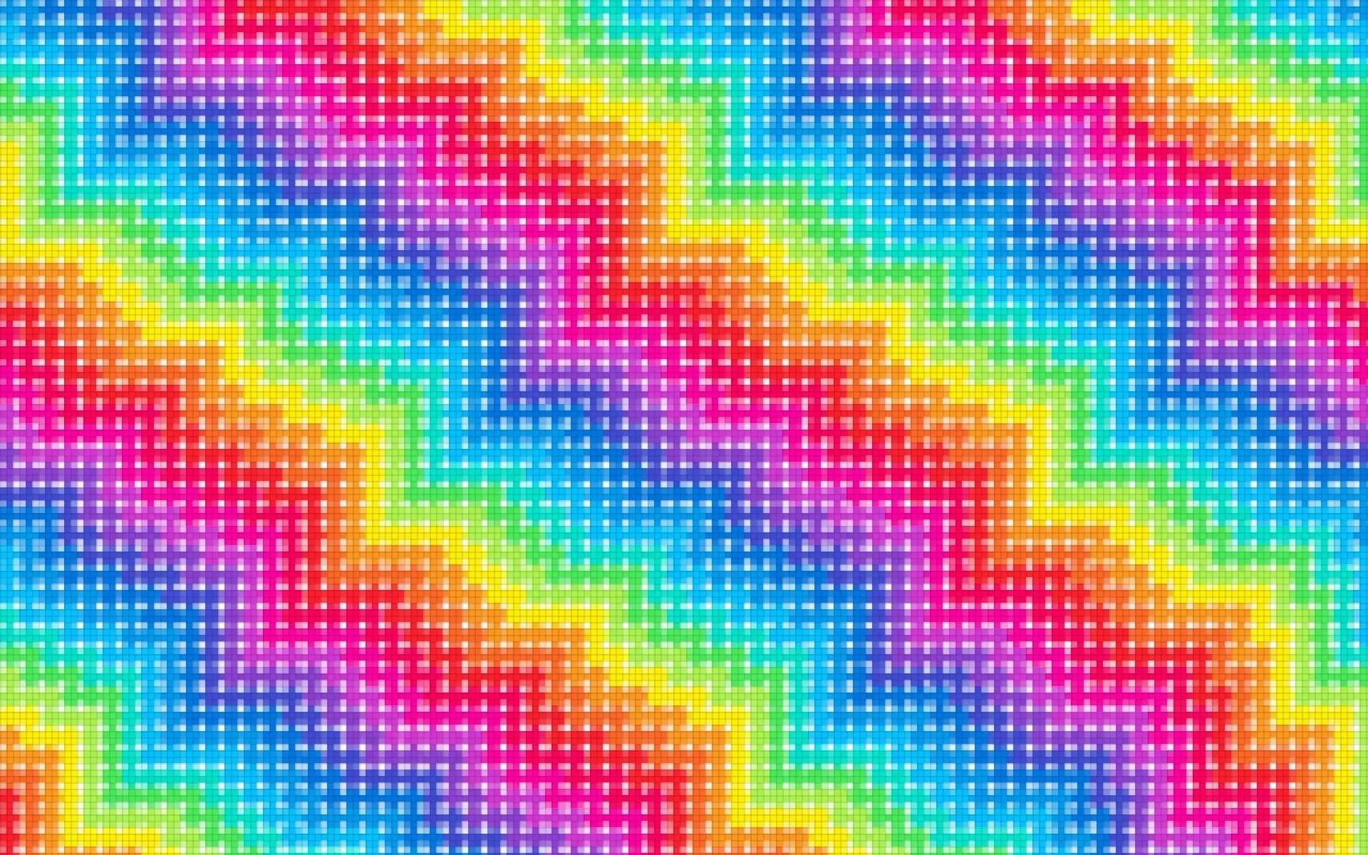pixel rainbow wallpaper 71410