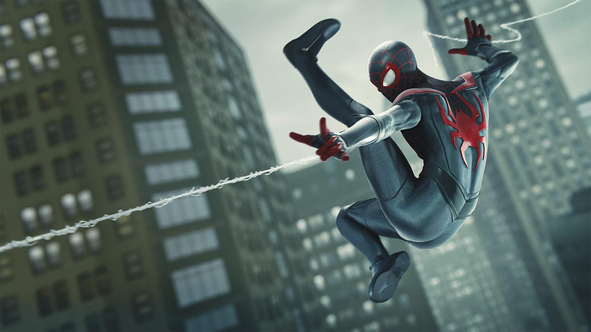 ps5 marvels spider man miles morales wallpaper 72404