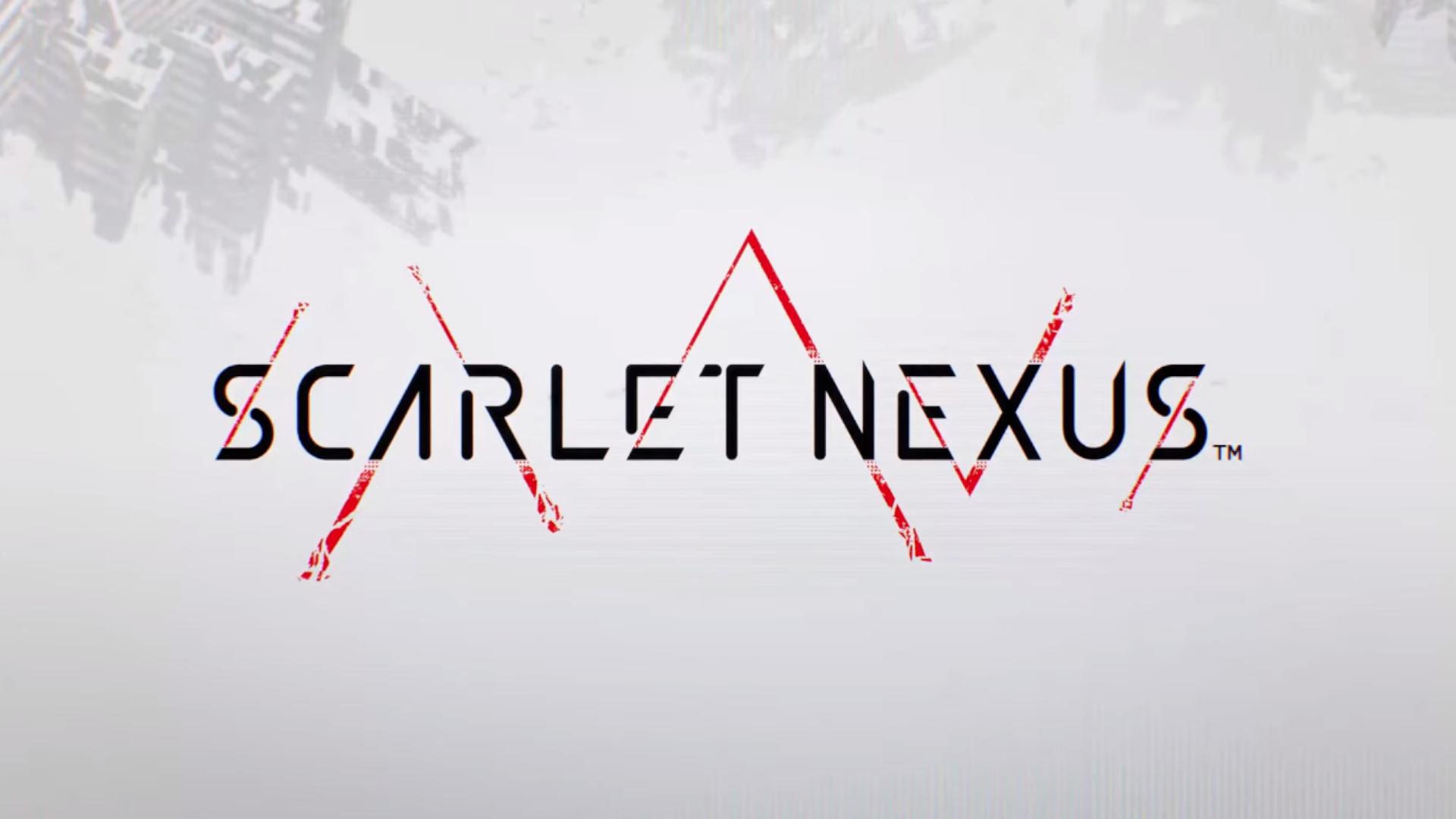 scarlet nexus logo wallpaper 72379